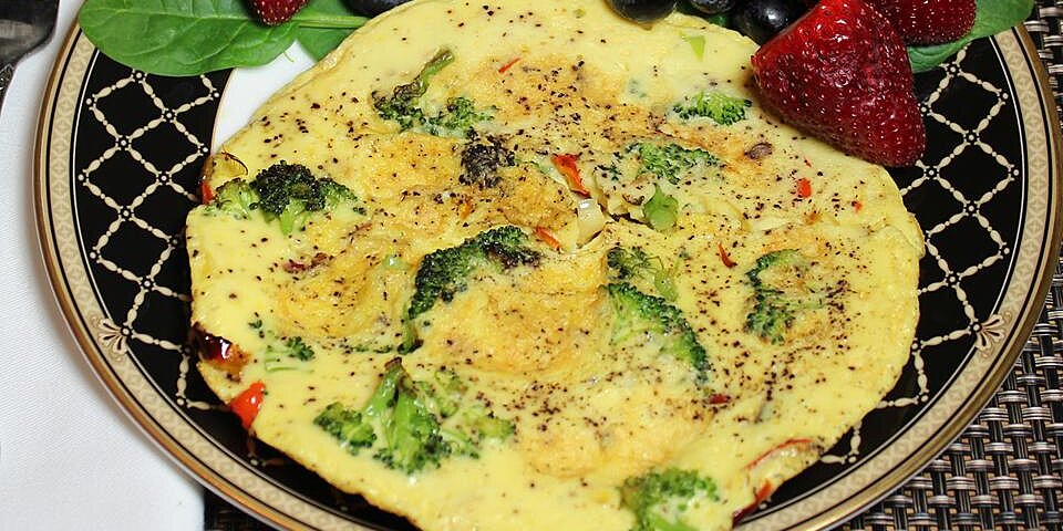 vegetable stovetop frittata recipe