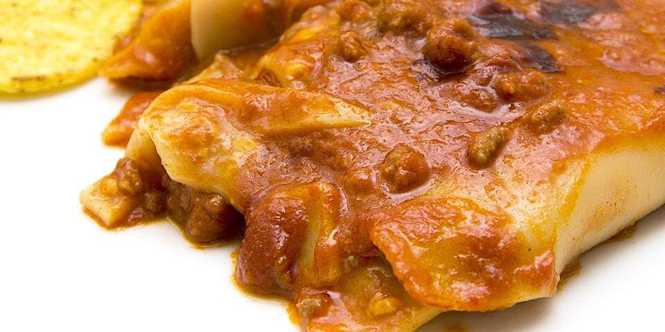taco lasagna with noodles recipe