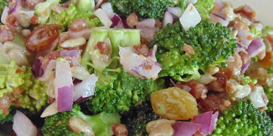 easy broccoli bacon salad recipe