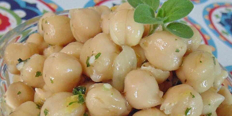 marinated chickpeas recipe