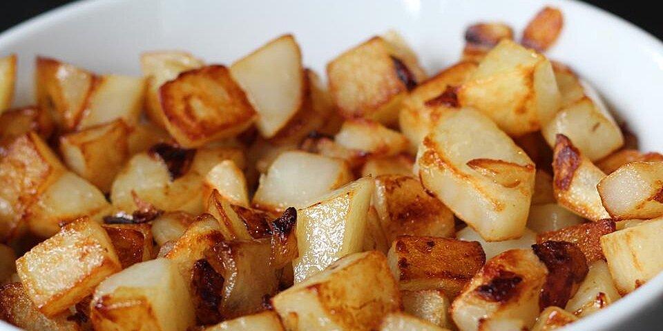 butter fried potatoes recipe