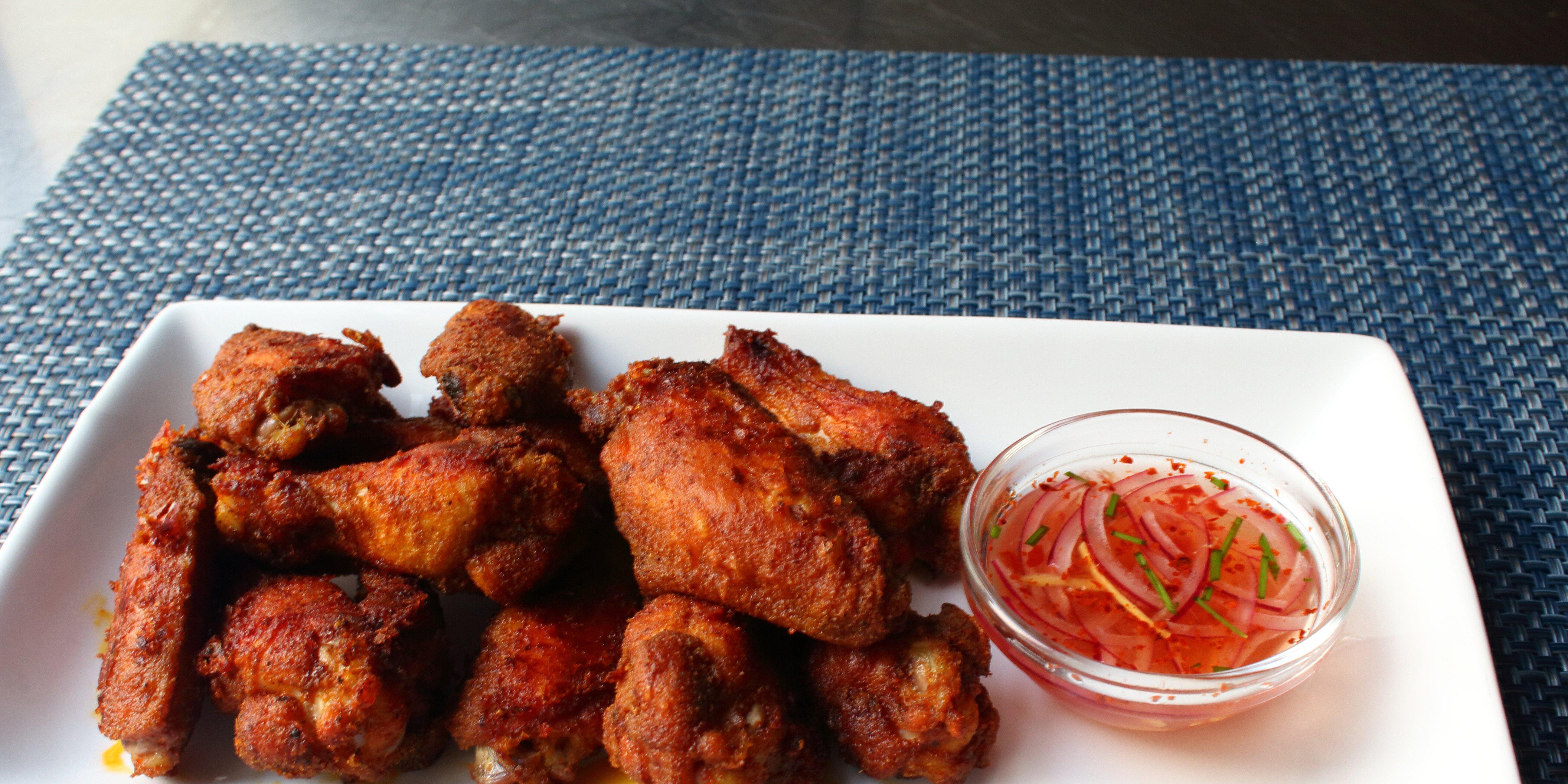 chennai chicken wings recipe