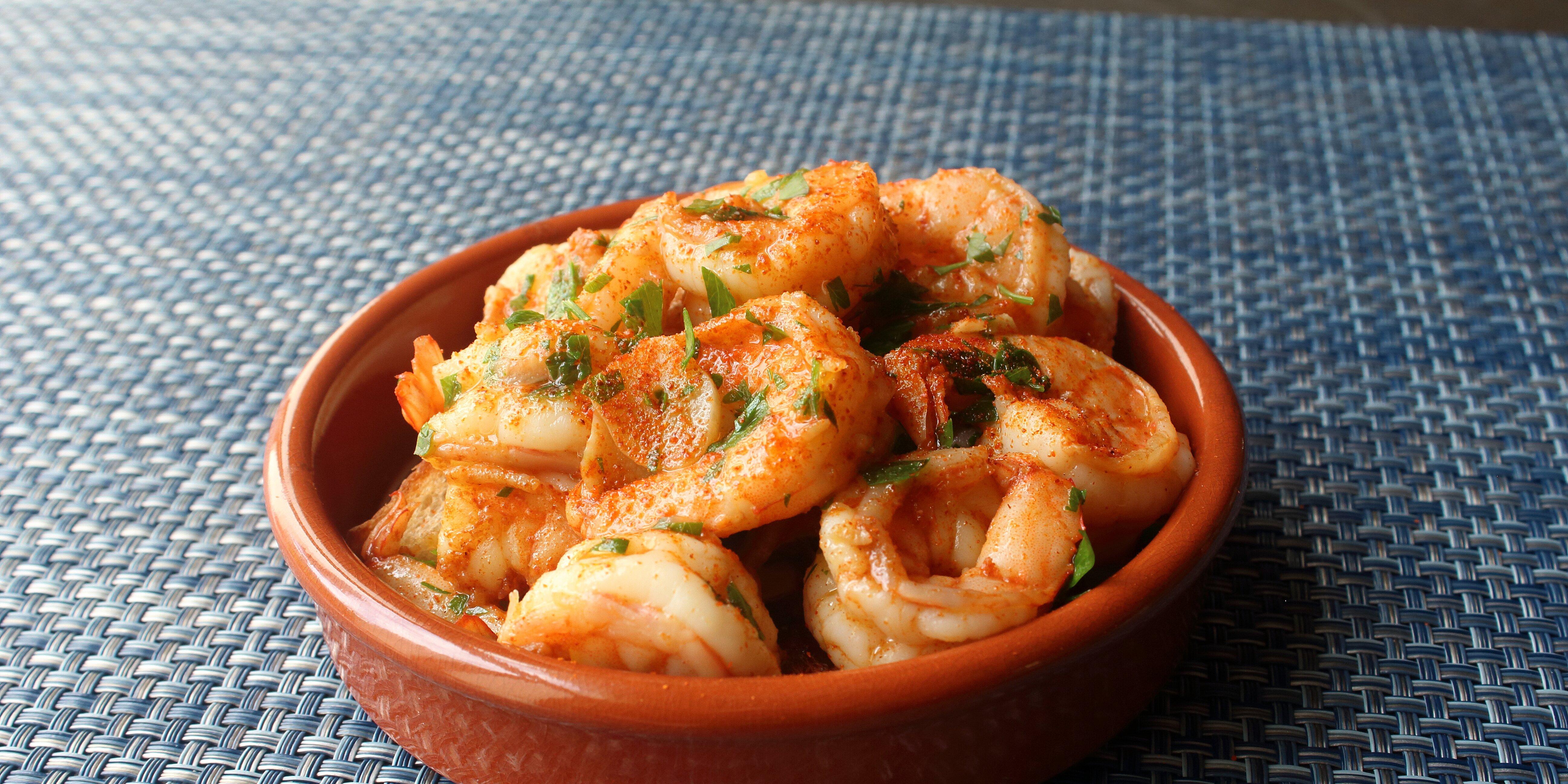 spanish garlic shrimp gambas al ajillo