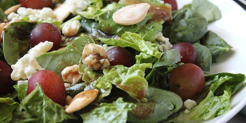 blue spinach salad recipe