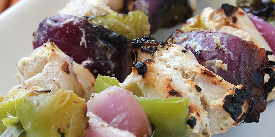 marinated greek chicken kabobs recipe