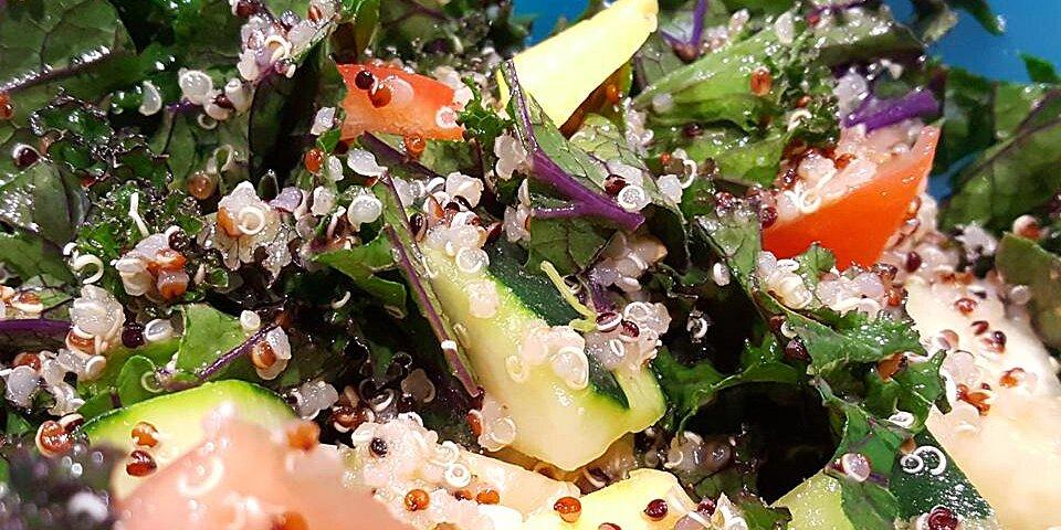 kale tabbouleh with quinoa recipe