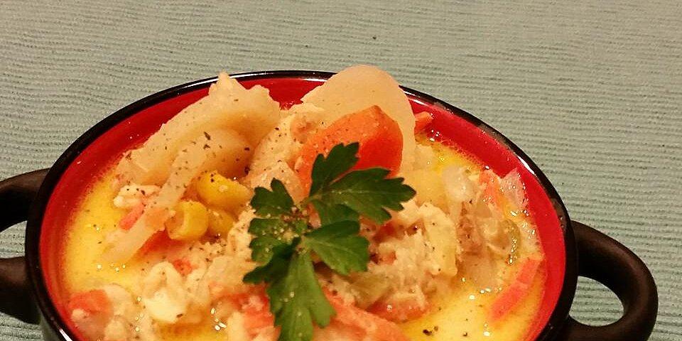 moms fish chowder recipe