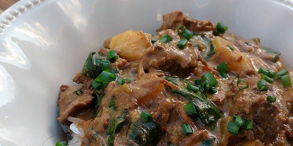 slow cooker thai curried beef recipe
