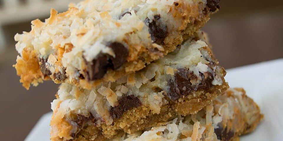 seven layer bars recipe
