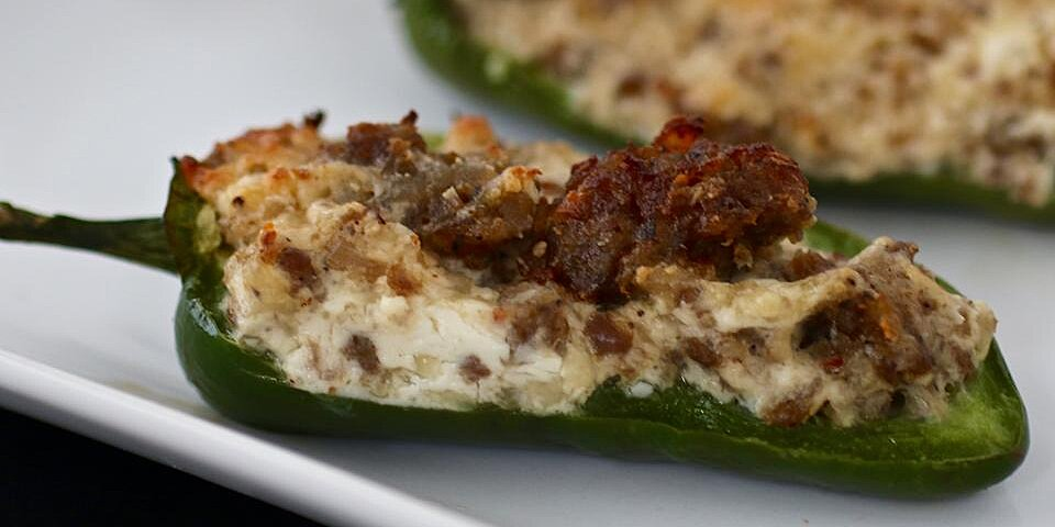sausage stuffed jalapenos recipe