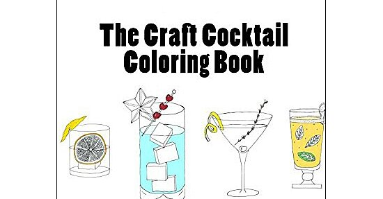 The Ultimate Drink 'n' Draw Coloring Book