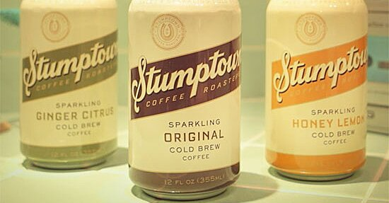 Stumptown Launches Sparkling Cold Brew Food Wine