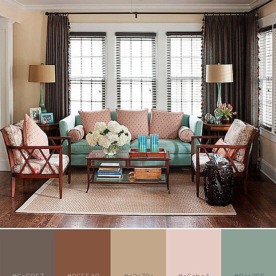 What Colors Go With Brown Better Homes Gardens