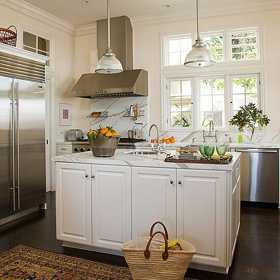 Island Kitchen Lighting Better Homes