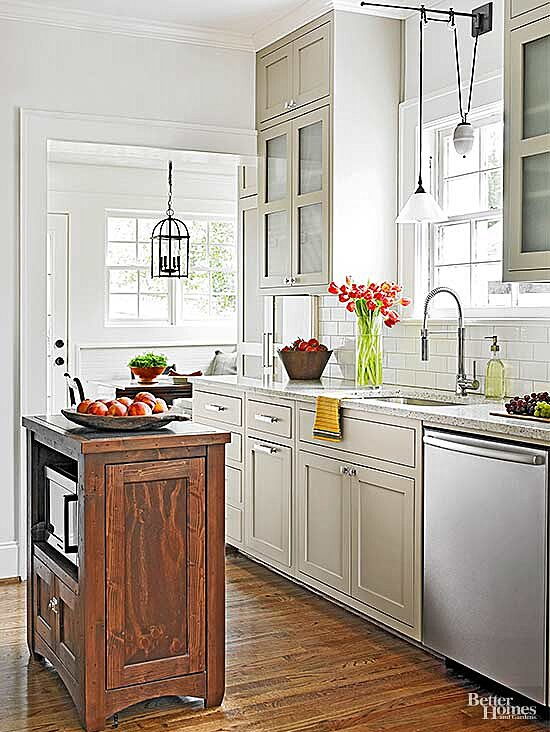 Best Colors For Small Kitchens Better