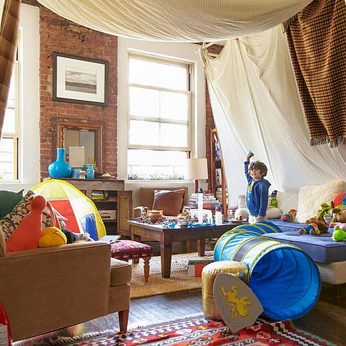 How To Make A Blanket Fort And Clever Blanket Fort Ideas Real Simple