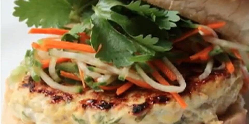 chef johns chicken satay burger recipe