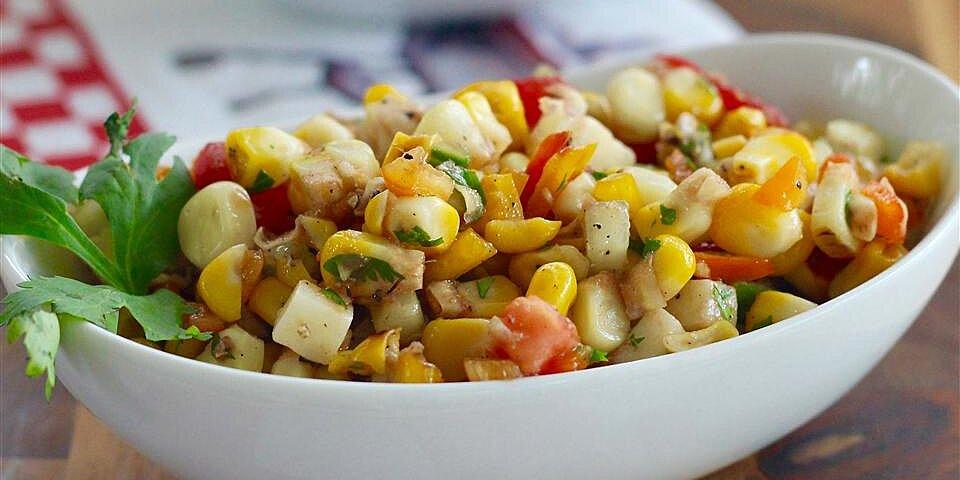 kates grilled corn salad recipe