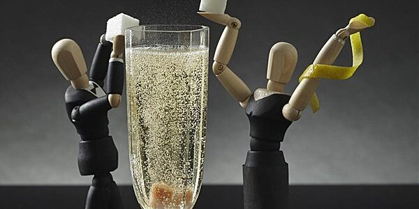 toast weekend brunch with these champagne cocktails