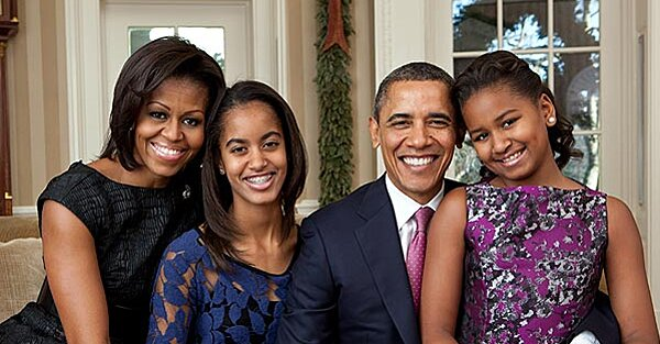 Barack and Michelle Obama: Why We Won't Let Our Daughter Sasha Go On Facebook