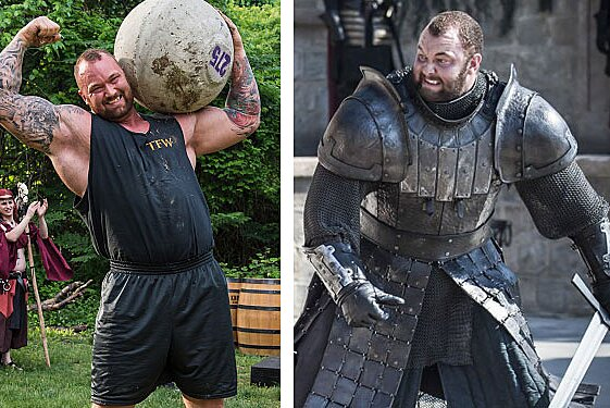 """Three different men played The Mountain on """"Game of Thrones"""" and here's  what they look like IRL 