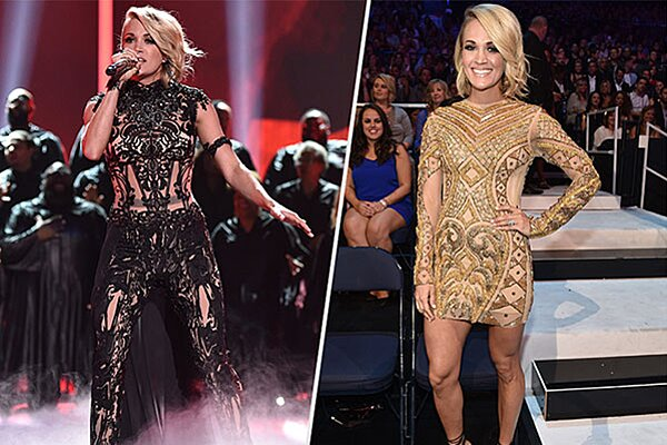 Cmt Awards 2016 Carrie Underwood Shows Off Shortest Haircut Yet People Com