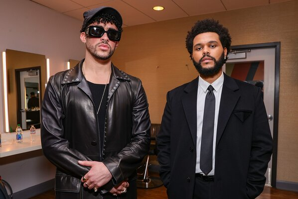 bad bunny and the weeknd
