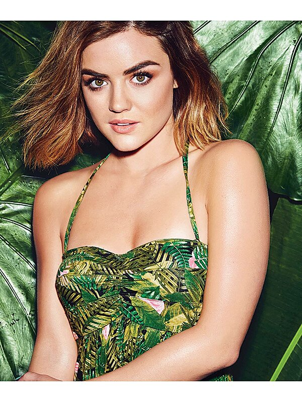 Lucy Hale Explains Why She Doesn T Regret Her Short Haircut People Com