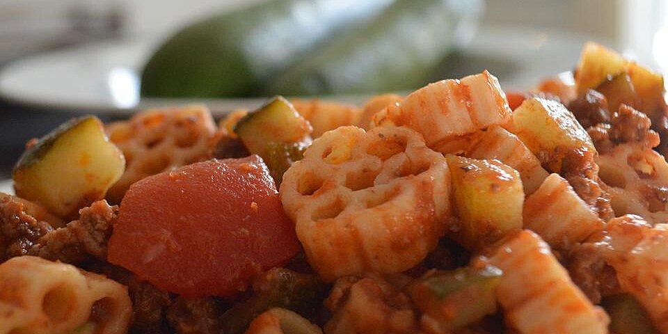 debbies zucchini skillet dinner recipe