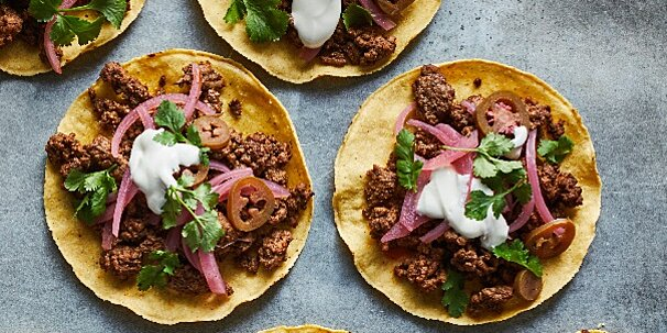 what is a tostada how is it different than a taco