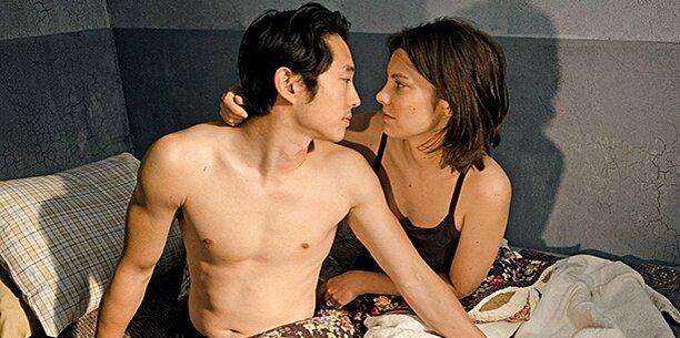 Steven Yeun Shirtless