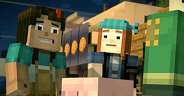 Minecraft Story Mode Episode 1 Ew Review Ew Com