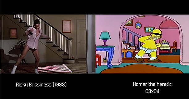 The Simpsons Movie References Featured In Side By Side Video Comparison Ew Com