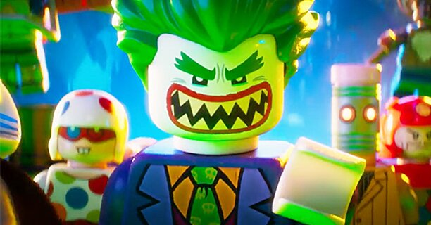 Lego Batman Movie Poster Shows Joker Harley Quinn Two Face Ew Com