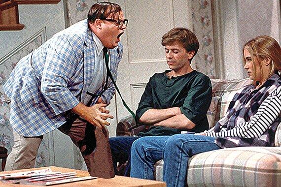 I Am Chris Farley: Vintage footage of Farley as Matt Foley  EW.com