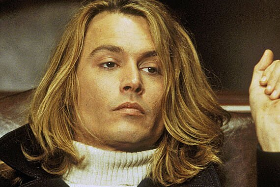 Johnny Depp 21 Hair Dos And Don Ts Ew Com