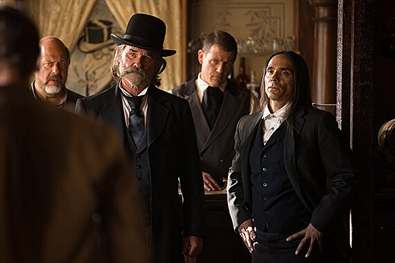 Kurt Russell Rides Again In The Cannibal Western Bone Tomahawk Exclusive Set Report Ew Com