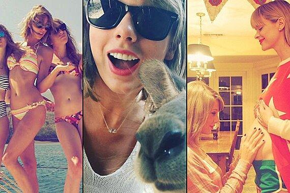 Taylor Swift S Year In Instagram Ew Com