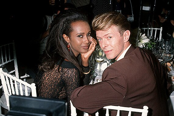 David Bowie and Iman, Rock's Greatest Couple, In Their Words | EW.com