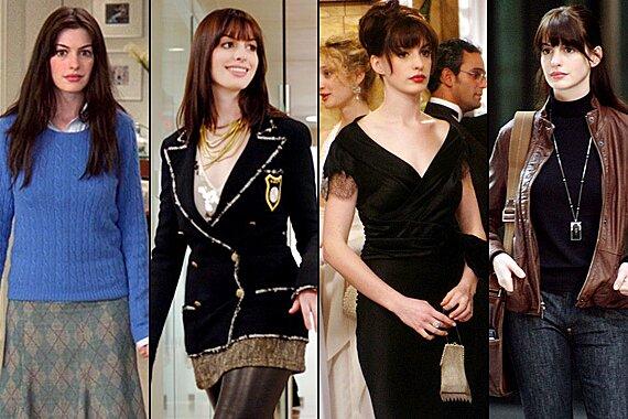 The Devil Wears Prada Costume Designer Patricia Field On Andy S Style Evolution Ew Com