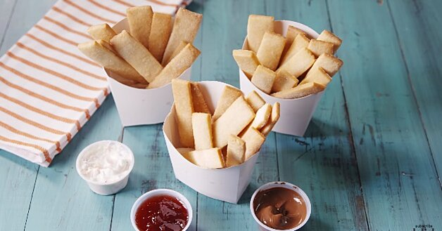 Sugar cookie FRIES are a real thing, and they're so easy to make