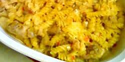 baked cheesy veggie chicken pasta recipe