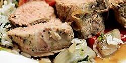 italian style pork tenderloin recipe