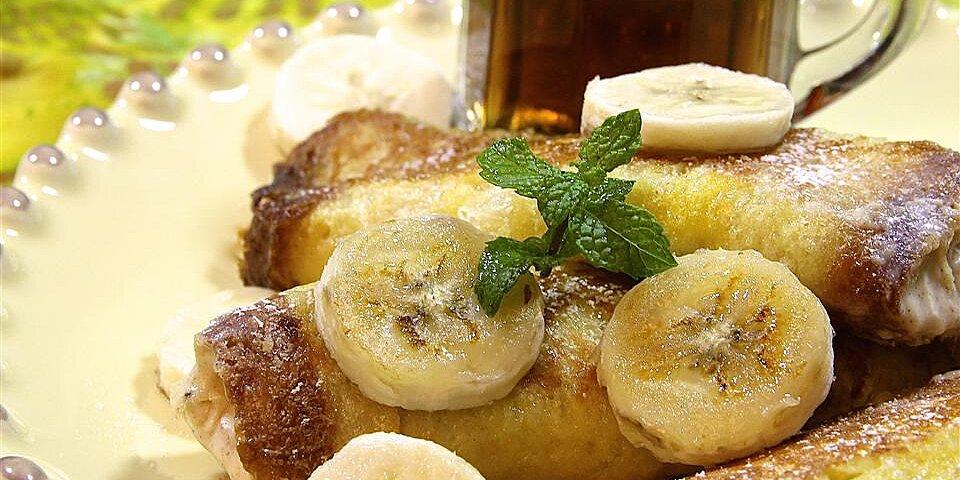 banana roll french toast recipe