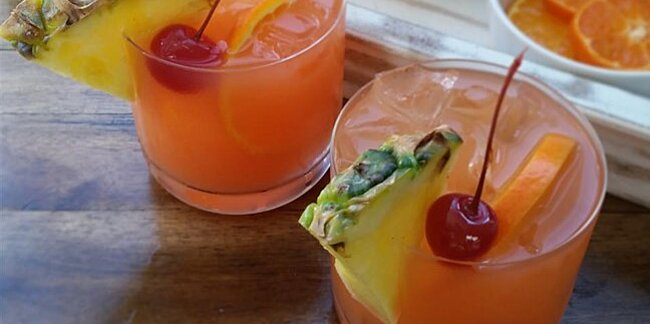 vacation inspired cocktails and mocktails
