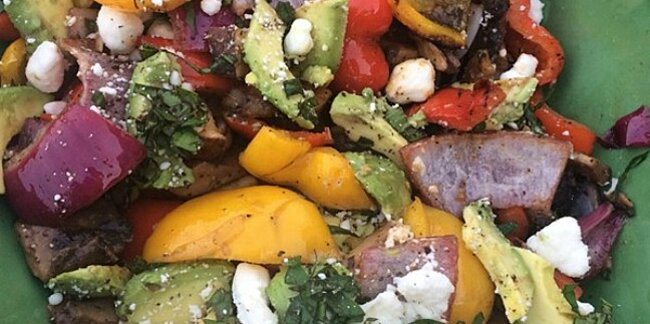 grill extra vegetables to save time eat better