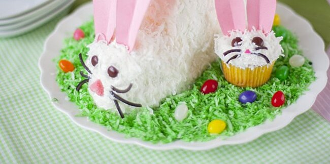 7 easter bunny cakes your family will love