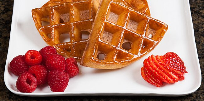 the secret ingredient for the best waffles
