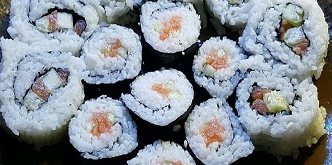 this family style sushi party is so fun easy