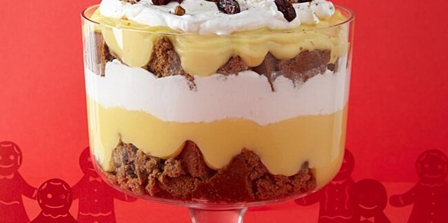 how to make the prettiest holiday trifles